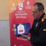 San Sebastián de los Reyes refuerza su dispositivo con 37 nuevos desfibriladores