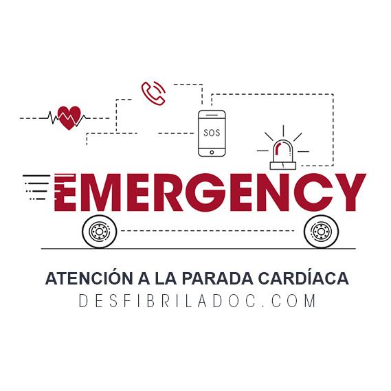 desfibriladores emergencias protección civil, policía, bomberos