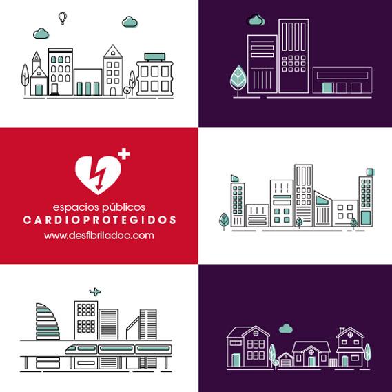 Desfibriladores en Ayuntamientos, Ciudad Cardioprotegida